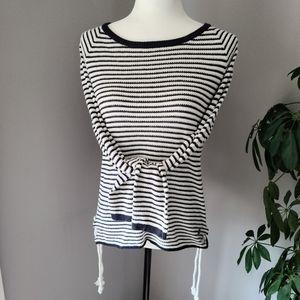 Manguun striped long sleeve top